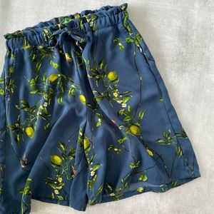 Anthropologie Lemon Bermuda Shorts